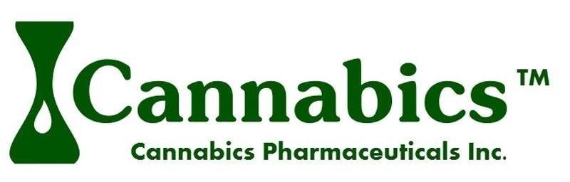 Cannabics Pharamaceuticals Logo (PRNewsFoto/Cannabics Pharmaceuticals Inc.) (PRNewsFoto/Cannabics Pharmaceuticals Inc.)