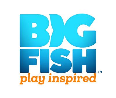 Big Fish logo. (PRNewsFoto/Big Fish)