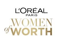 lorealpariswomenofworth_Logo