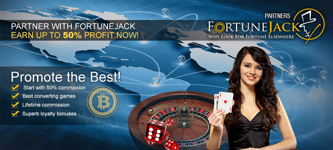 Lucrative Bitcoin Affiliate Program Launched by FortuneJack Casino