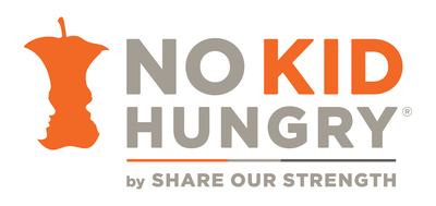 No Kid Hungry, Share Our Strength Logo. (PRNewsFoto/Share Our Strength's No Kid Hungry Campaign)