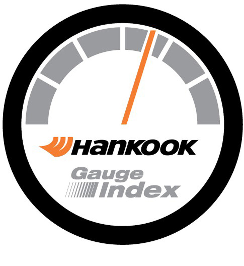Hankook Gauge Index (PRNewsFoto/Hankook Tire)