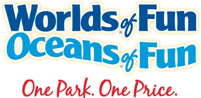 Worlds of Fun logo (PRNewsfoto/Worlds of Fun)