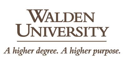 Walden University logo.