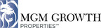 MGM Growth Properties LLC Announces Quarterly Dividend