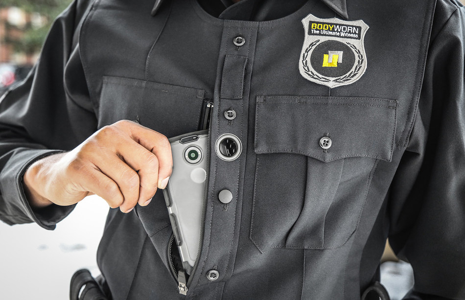 Utility's BodyWorn(TM) is the only police body camera system that provides policy-based recording and automatic video redaction (PRNewsFoto/Utility, Inc.)