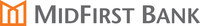 MidFirst Bank Logo (PRNewsFoto/MidFirst Bank)
