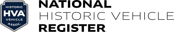 National Historic Vehicle Register Logo (PRNewsfoto/Historic Vehicle Association)