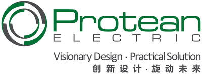 Protean Electric Logo with Tagline (PRNewsFoto/Protean Electric)
