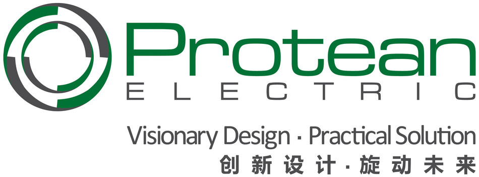 Protean Electric Logo with Tagline