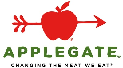 "Applegate, the nation's leading natural and organic meat brand, produces high-quality natural and organic hot dogs, bacon, sausages, deli meats, cheese and frozen products. We source our meat from family farms, where animals are treated with care and respect and are allowed to grow at their natural rate. That means no antibiotics and growth promotants. We believe this results in products that taste great and offer peace of mind, all part of our mission - ""Changing The Meat We Eat(R)."" (PRNewsFoto/Applegate) (PRNewsfoto/Applegate)"