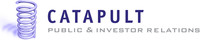 Catapult PR-IR Logo. (PRNewsFoto/Catapult PR-IR)