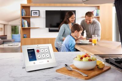 The new Honeywell Lyric Home Security and Control System - the Lyric Controller. (PRNewsFoto/Honeywell)