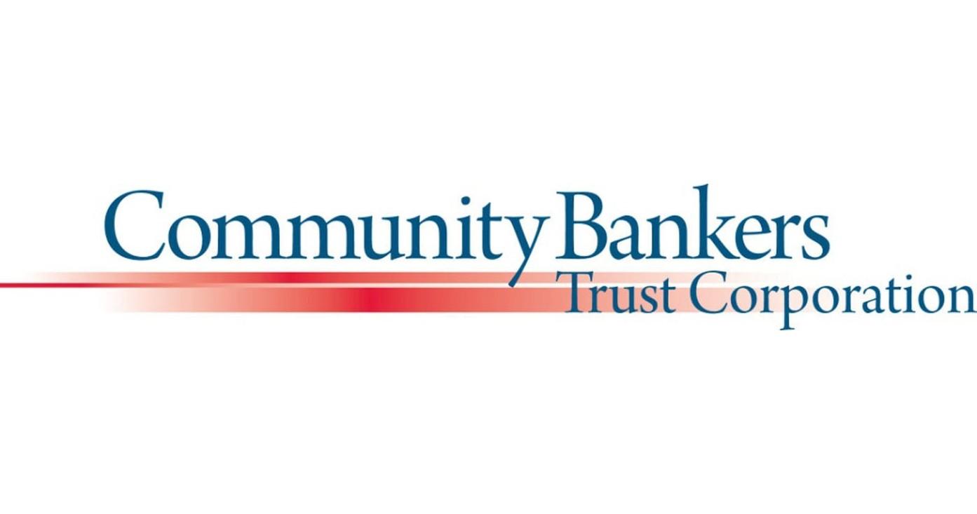 Community Bankers Trust Corporation Announces Quarterly Dividend