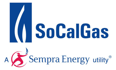 About Southern California Gas Co.: Southern California Gas Co. (SoCalGas) has been delivering clean, safe and reliable natural gas to its customers for more than 145 years. It is the nation's largest natural gas distribution utility, providing service to 21.6 million consumers connected through 5.9 million meters in more than 500 communities. The company's service territory encompasses approximately 20,000 square miles throughout central and Southern California, from Visalia to the Mexican border. SoCalGas is a regulated subsidiary of Sempra Energy (SRE), a Fortune 500 energy services holding company based in San Diego. (PRNewsFoto/Southern California Gas Co.)