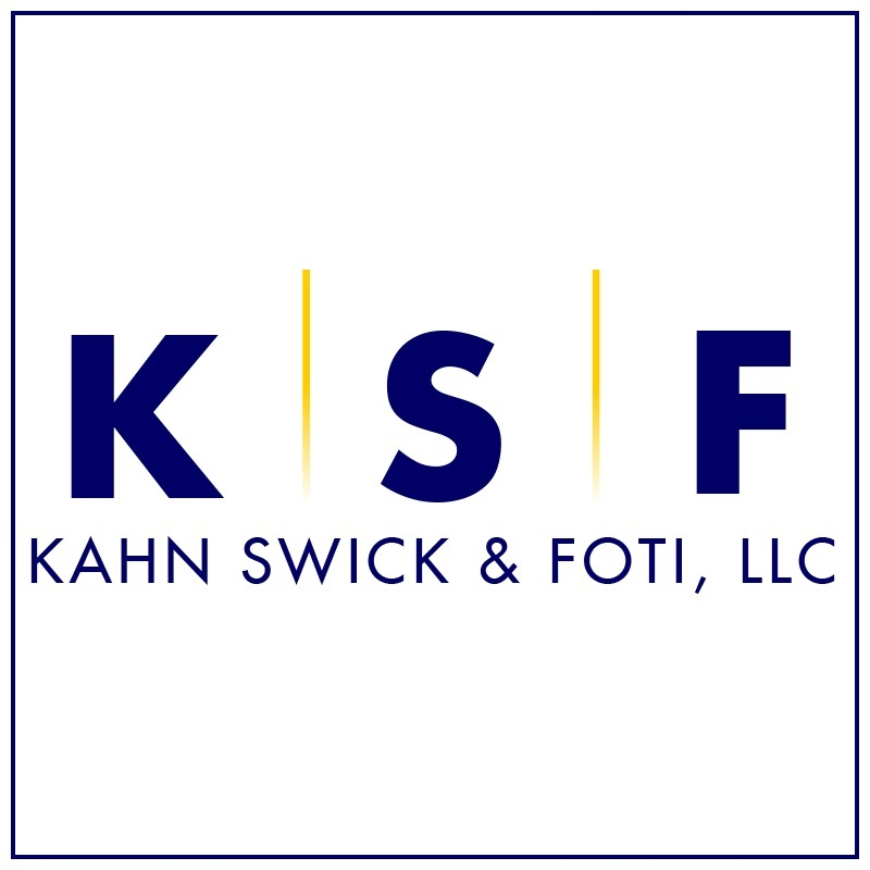 """Kahn Swick & Foti, LLC (""""KSF"""") - - not all law firms are created equal.  Visit www.ksfcounsel.com to learn more about KSF."""