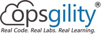 Opsgility - Real Code.  Real Labs.  Real Learning. (PRNewsFoto/Opsgility)
