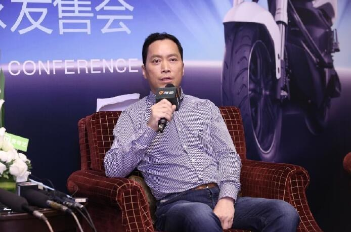 Jinggui Dong, Co-Founder of Yadea Group on the Interview After Yadea Z3 Release Conference.
