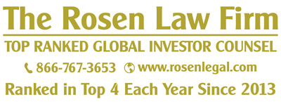 ROSEN, A GLOBALLY RECOGNIZED LAW FIRM, Reminds Uber Technologies, Inc. Investors of Important Deadline in Securities Class Action; Encourages Investors with Losses in Excess of $100K to Contact th...