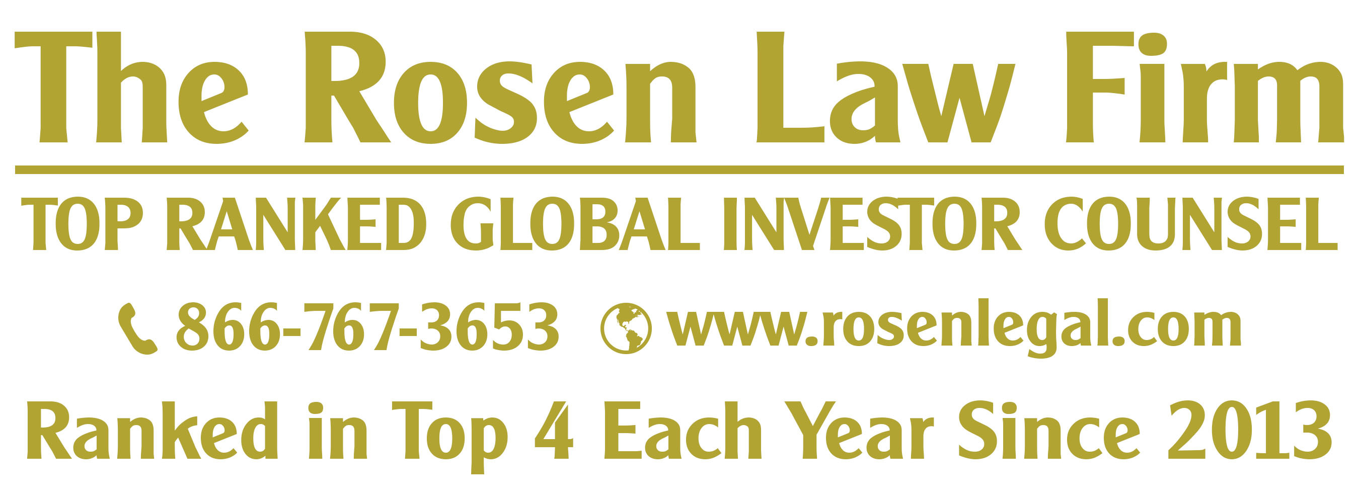 HEXO CORP. LOSS NOTICE: TOP RANKED ROSEN LAW FIRM Reminds HEXO Corp. Investors of Important January 27th Deadline in Securities Class Action