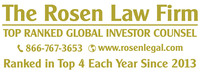 Rosen Law Firm, P.A. Logo (PRNewsFoto/Rosen Law Firm, P.A.)