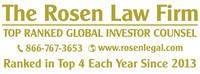 Rosen Law Firm, P.A. Logo (PRNewsFoto/Rosen Law Firm, P.A.)