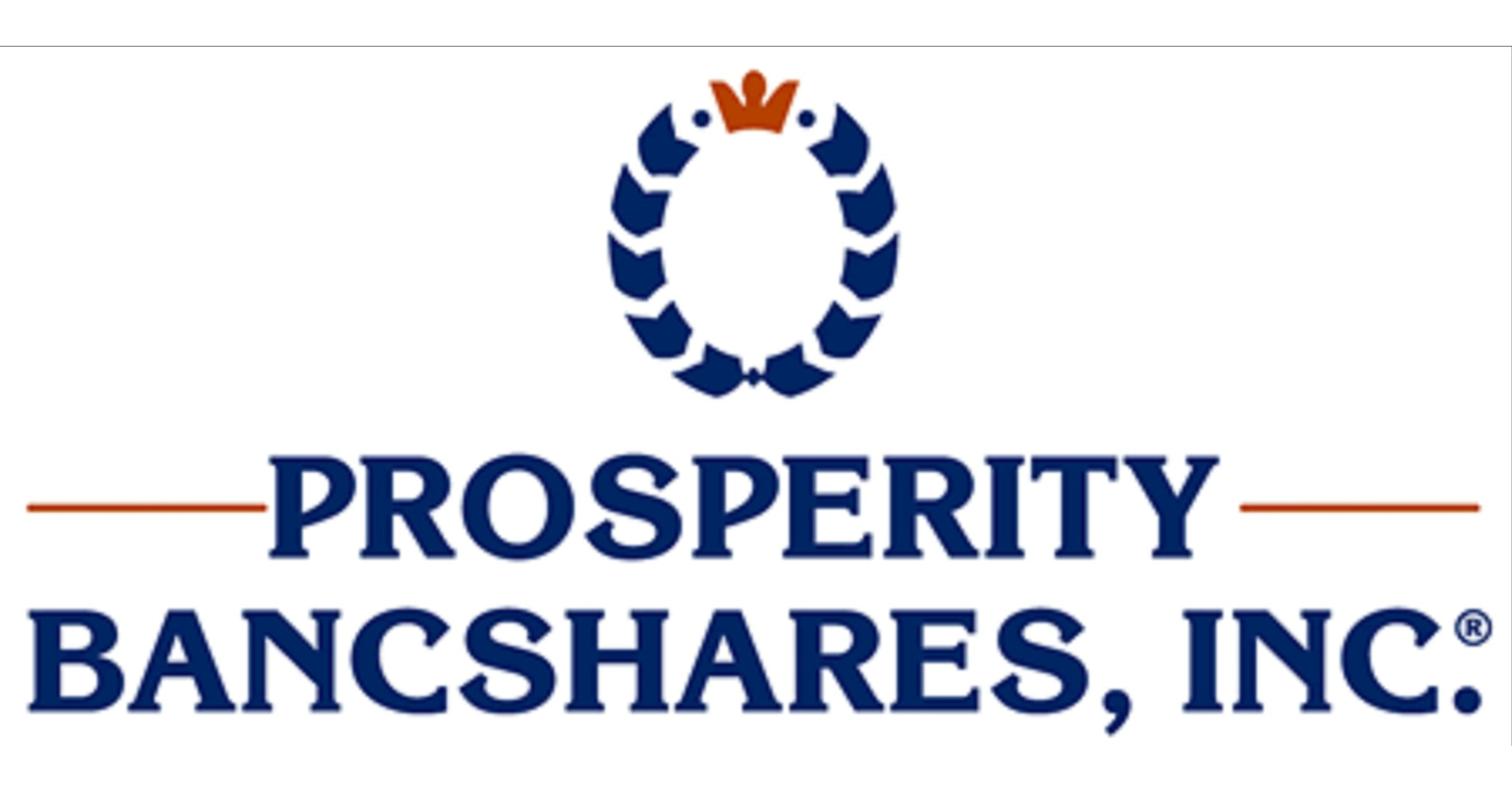 Prosperity Bancshares, Inc.® Reports First Quarter 2020 Earnings