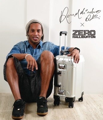 ZERO HALLIBURTON proudly introduces Ronaldinho as our new Brand Ambassador!