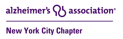 Alzheimer's Association : NYC Chapter Logo - https://www.alz.org/nyc/ (PRNewsFoto/Alzheimer's Association)