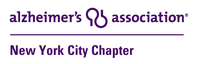 Alzheimer's Association : NYC Chapter Logo - https://www.alz.org/nyc/