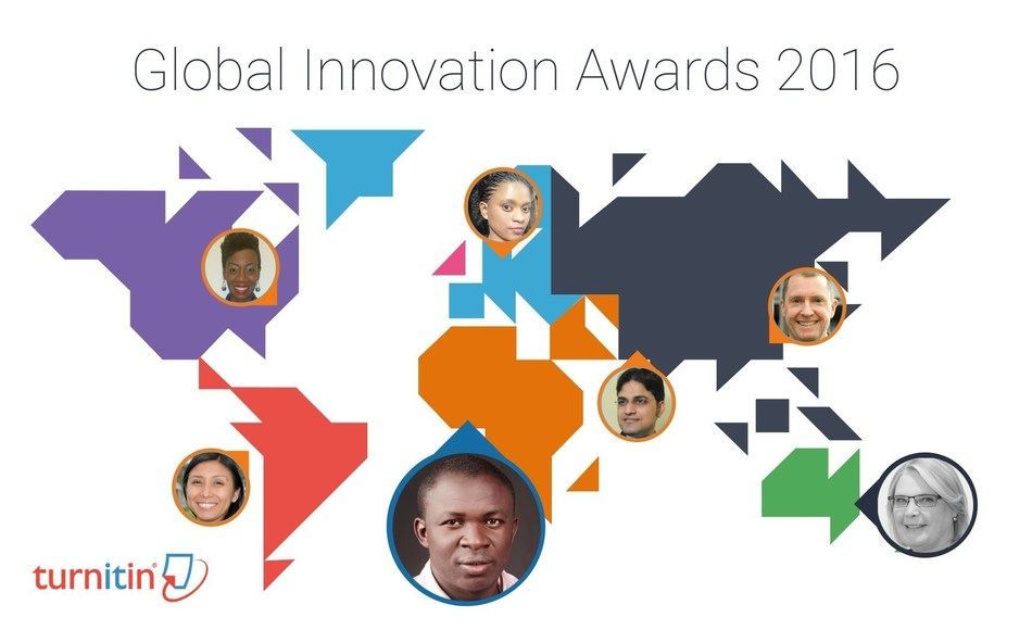 Turnitin recognized 58 educators in 21 countries for their dedication and innovation in academic integrity and student engagement in the 2016 Global Innovation Awards.