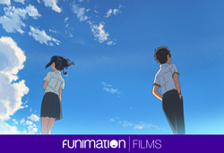 """Still from """"Your Name."""" Courtesy of Funimation Films. (PRNewsFoto/Funimation Films)"""