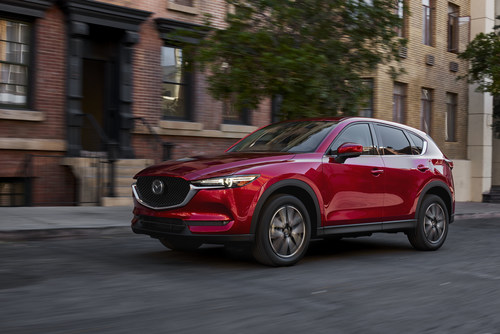 Mazda Unveils the All-New CX-5