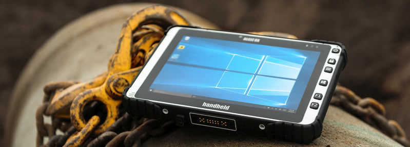 Introducing the ALGIZ 8X Rugged Tablet, a New Tough Computer from Handheld (PRNewsFoto/Handheld Group)