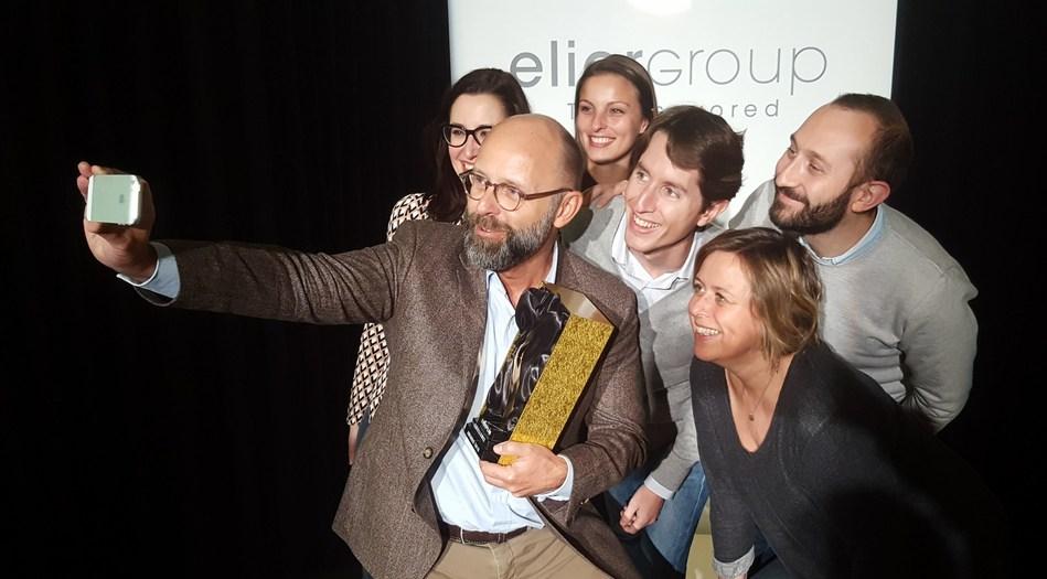 Elior Group rewarded at the European Excellence Awards 2016 (PRNewsFoto/Elior Group)