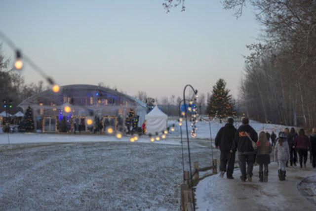 Les lieux du Miracle de Noël WestJet à Fort McMurray en Alberta. (Groupe CNW/WestJet)
