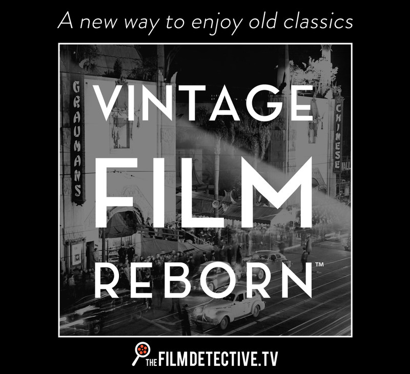 Discover a new world of forgotten cinema. From golden age Hollywood to b-westerns and monster flicks, there's something for everyone. (PRNewsFoto/The Film Detective)