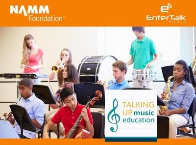 RobertsonComm (PRNewsFoto/EnterTalk Radio, NAMM Foundation)