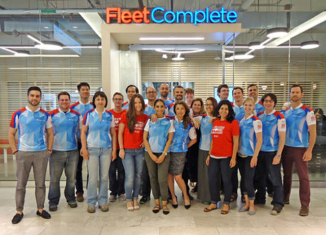 Fleet Complete makes the Greater Toronto's Top Employers 2017 list (CNW Group/Fleet Complete)