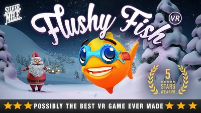 Silvermile Entertainment announced to launch highly popular virtual reality game Flushy Fish VR on Google Daydream.