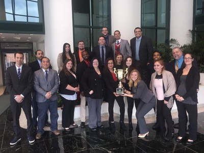 Marketing and sales firm Jonathan Wesley, Inc., led by president Andrew Breuninger, was honored with the Campaign Cup trophy for outstanding work in Q3. (PRNewsFoto/Jonathan Wesley, Inc.)
