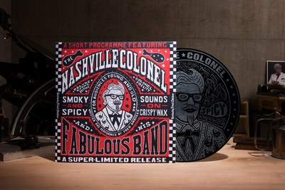 FC has dropped the spiciest and smokiest album of 2016 - the Nashville Hot record, available only on 331/3 and online. Written, produced and performed by actor and comedic personality, Fred Armisen, the record celebrates KFC's Nashville Hot Chicken, which, like the album itself, is available for a limited time.