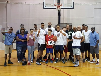 Premier sales and marketing company 45 Inc. raised funds for the Alzheimer's Association during the Walk to End Alzheimer's and by hosting a basketball tournament recently in Birmingham.