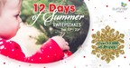 Summer Infant Gives Fans the Chance to Win Some Newly Revealed Products in Their 8th Annual 12 Days of Summer Holiday Sweepstakes