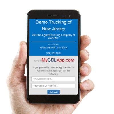 Today nearly every driver has a smartphone, and they have it with them at all times. Very few drivers carry with them a printer, scanner, or a stamp. Stop relying on drivers to print, fill-out, scan, and email/mail a PDF driver job application to you. MyCDLapp.com puts your truck driver job application in the hands of every driver. MyCDLapp.com allows drivers to complete your driver application, along with all of the consent forms, the moment they see your job posting. Our online driver applicat