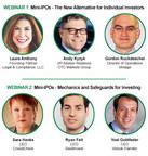 IPOs & Transactions Week in Review: Dec 5 - 9 / plus Reg A+ Webinar Invite