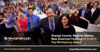 Orange County Register Names New American Funding #1 in 2016 Top Workplaces Award