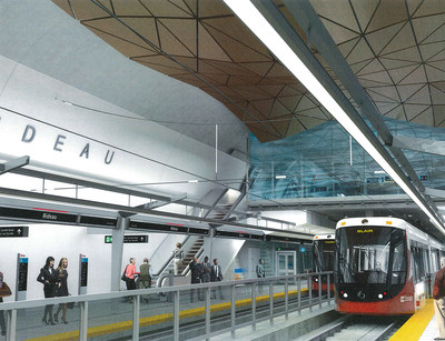 Otis is providing 54 elevators and modernizing two existing units for the O-Train Confederation Line, the first leg of Ottawa's electric Light Rail Transit system. Many of the elevators will combine Otis' innovative Gen2 technology with custom-designed glass cabs for an exceptional riding experience.