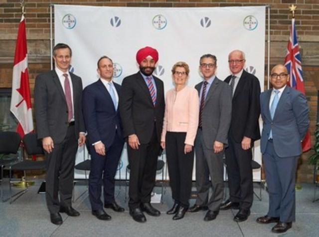 Bayer et Versant Ventures unissent leurs forces pour lancer BlueRock Therapeutics, une entreprise de traitements à base de cellules souches, grâce à un investissement de série A de 225 millions de dollars américains. (Groupe CNW/Bayer Canada)