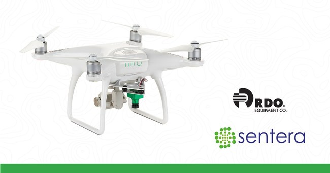 Offering will include Sentera NDVI upgrade for Phantom 4 and Phantom 3 UAVs